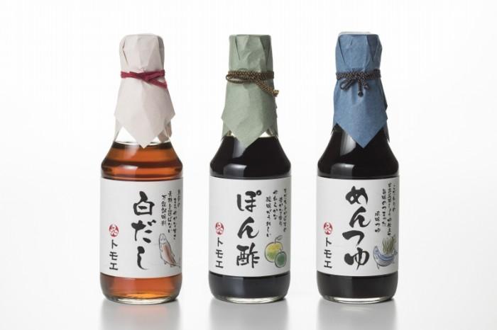 トモエ醤油味噌本店限定、白だし・ぽん酢・めんつゆ 新発売