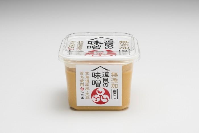 【新商品のお知らせ】  トモエ道民の味噌白こし  3月1日新発売