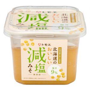 【新商品のお知らせ】 トモエ北海道のおいしい減塩みそ650g